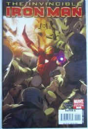 Invincible Iron Man #1 Djurdjevic Retailer Incentive Variant 1:25